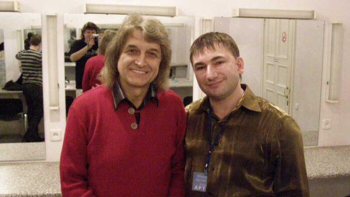 Константин Тетруев и Павел Дворский